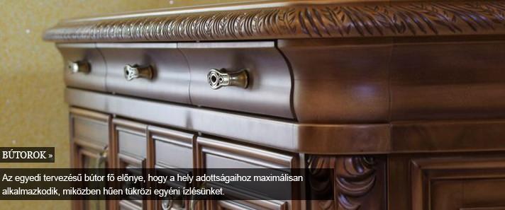 egyedi faragott bútor