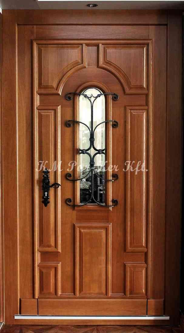bejárati ajtó, nyílászáró 05, tölgy biztonsági