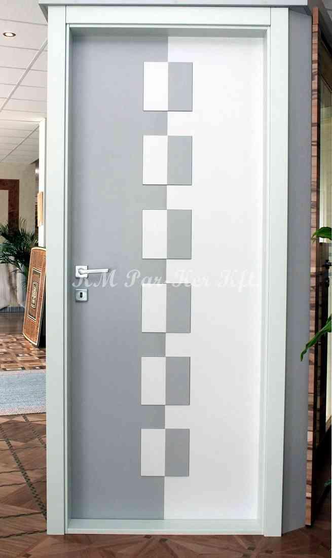 beltéri ajtó, nyílászáró 06, festett MDF