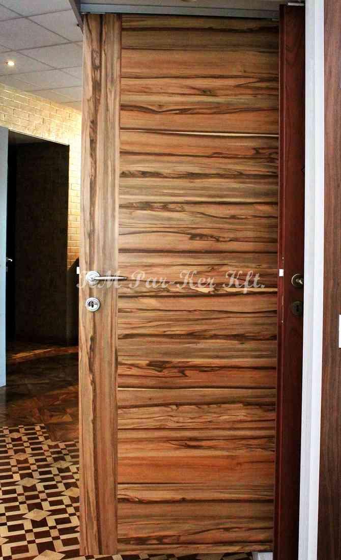 beltéri ajtó, nyílászáró 14, szatén dió furnéros