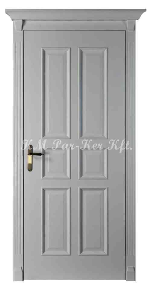 beltéri ajtó, nyílászáró 16, juhar keretes, festett