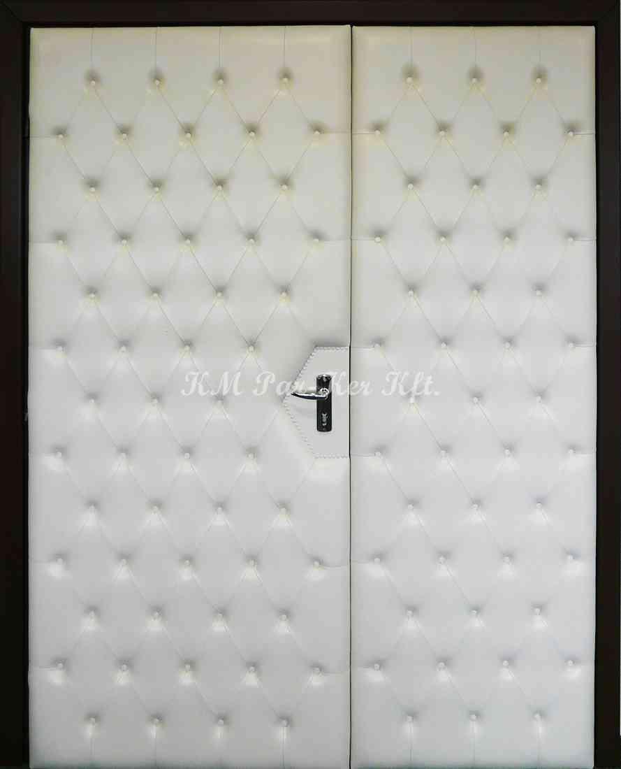 beltéri ajtó, nyílászáró 24, kétszárnyú bőr