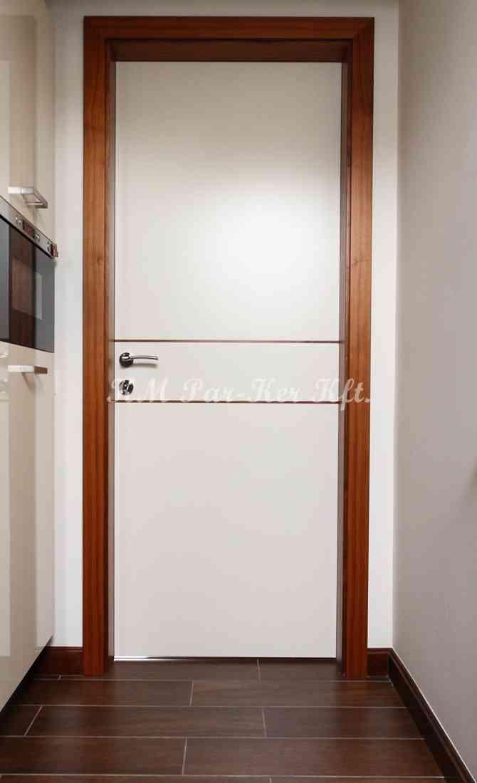 beltéri ajtó, nyílászáró 26, festett MDF fabetéttel