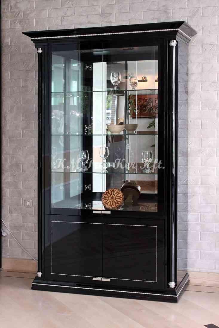 Individuelle Möbel 07, Glasschrank mit Hochglanz