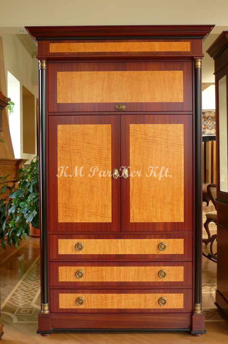 Individuelle Möbel Herstellung 75, Sekreter, Vitrine, Mahagony