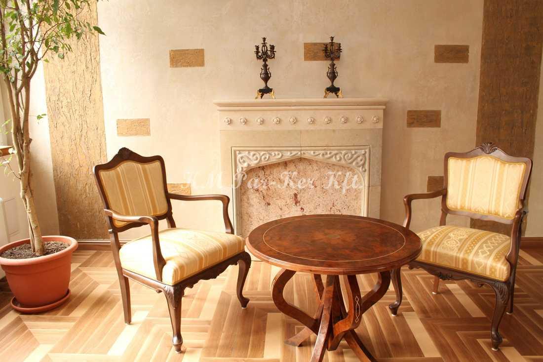 Individuelle Möbel Herstellung 76, Stuhl mit Armlehnen