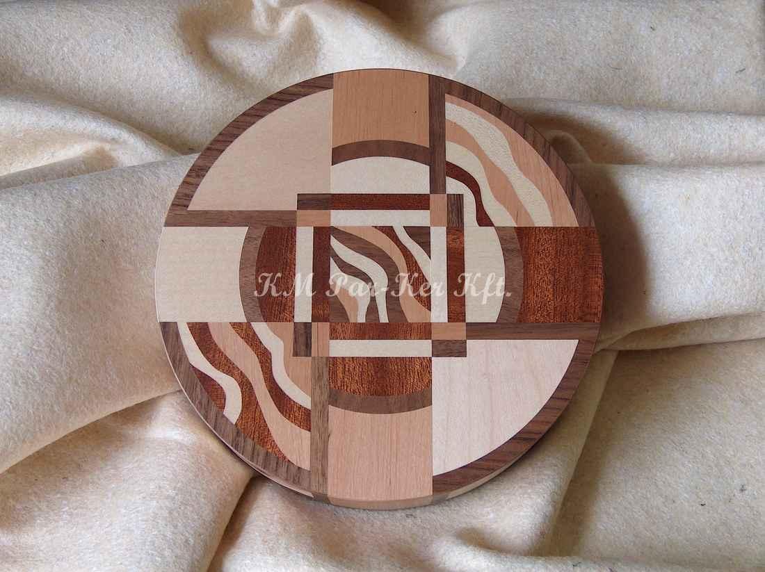 Intarsien Schachtel 03, Mahagony, Buche, Ahorn, Walnuss