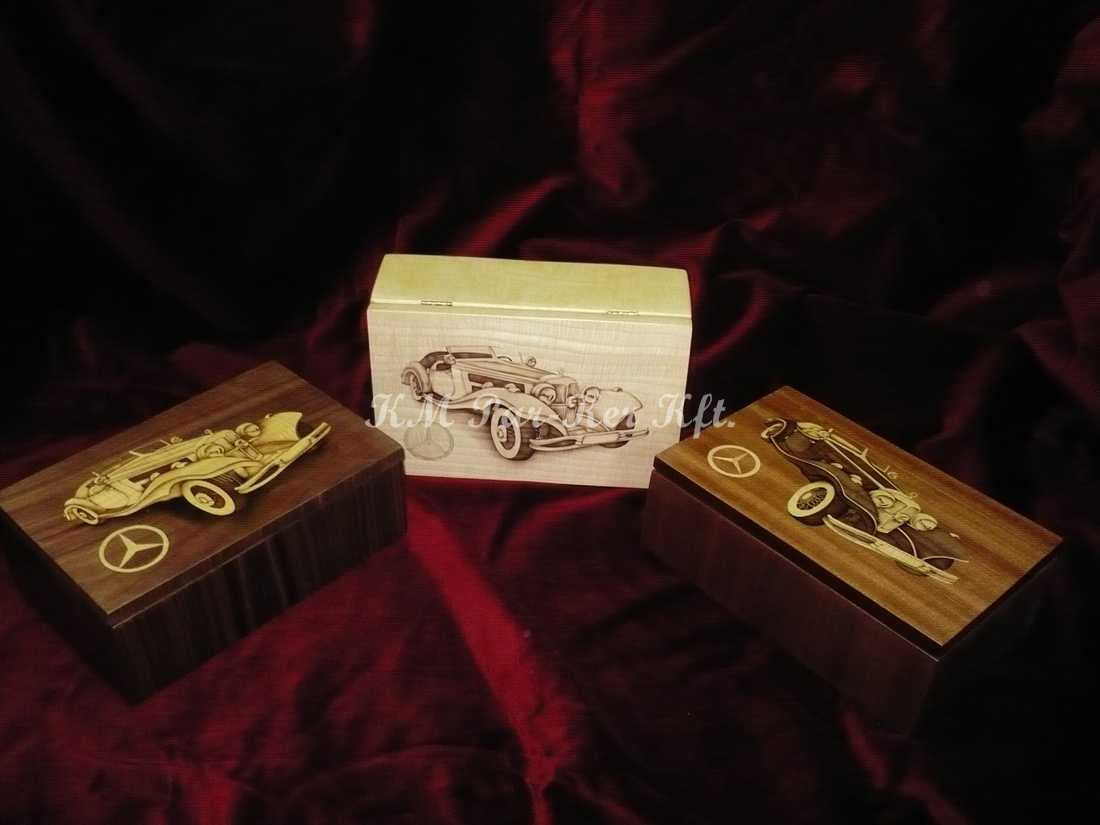 Intarsien Schachtel 09, Mercedes