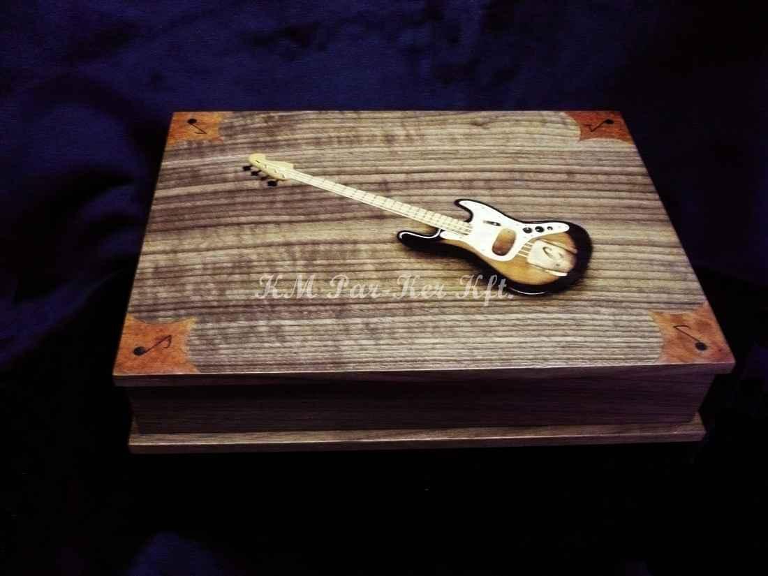 Intarsien Schachtel 10, Gitarre