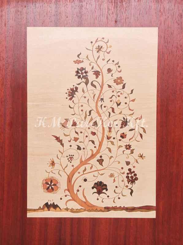 Intarsienkunst -Lebensbaum