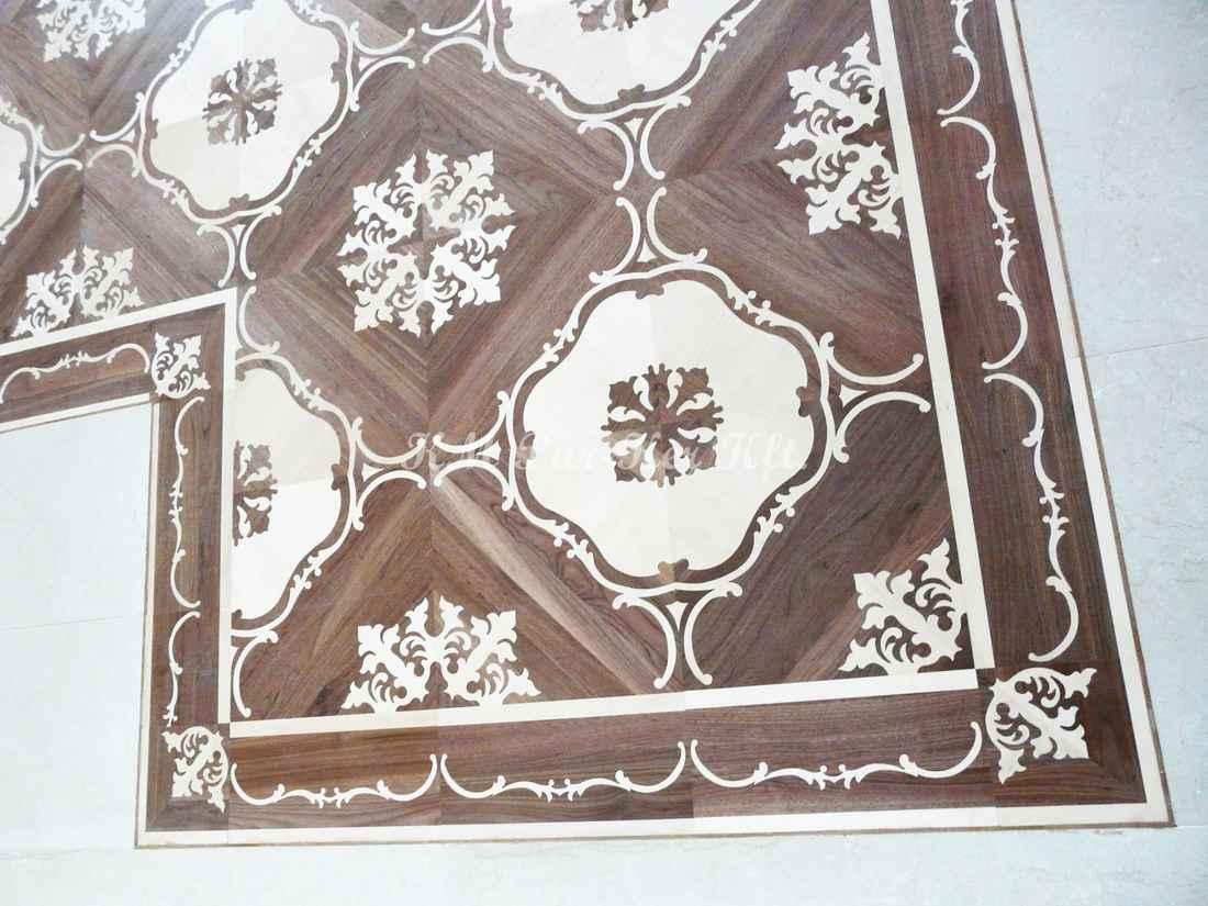 Tafelparkett, Intarsien Parkett Bordüre 17, Sonja