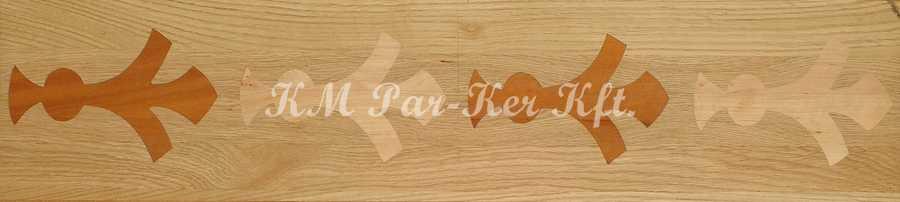 Tafelparkett, Intarsien Parkett Bordüre 06