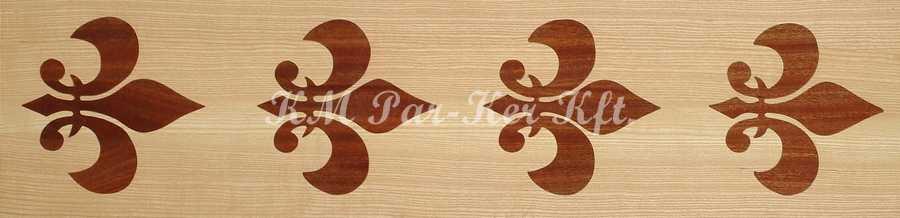 Tafelparkett, Intarsien Parkett Bordüre 10