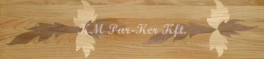 Tafelparkett, Intarsien Parkett Bordüre 14
