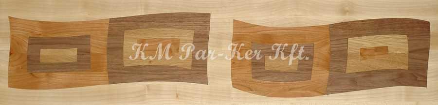 Tafelparkett, Intarsien Parkett Bordüre 18