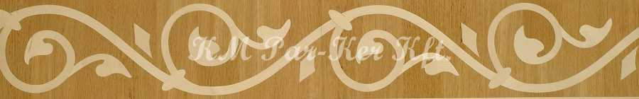 Tafelparkett, Intarsien Parkett Bordüre 19