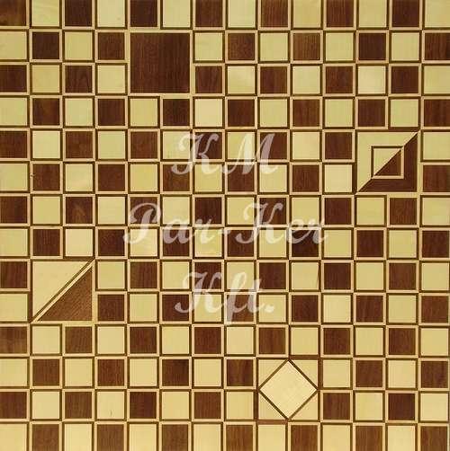 Tafelparkett, Intarsien Parkett, Schach 1
