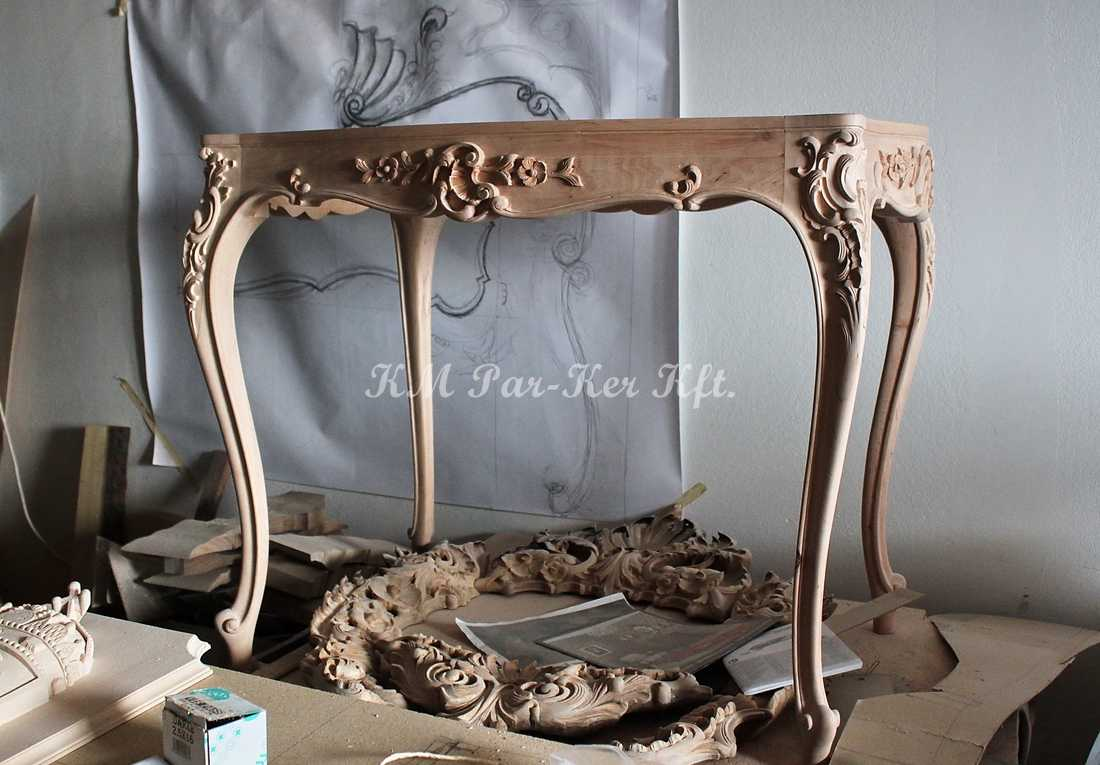 carved furniture 15, making coffee table