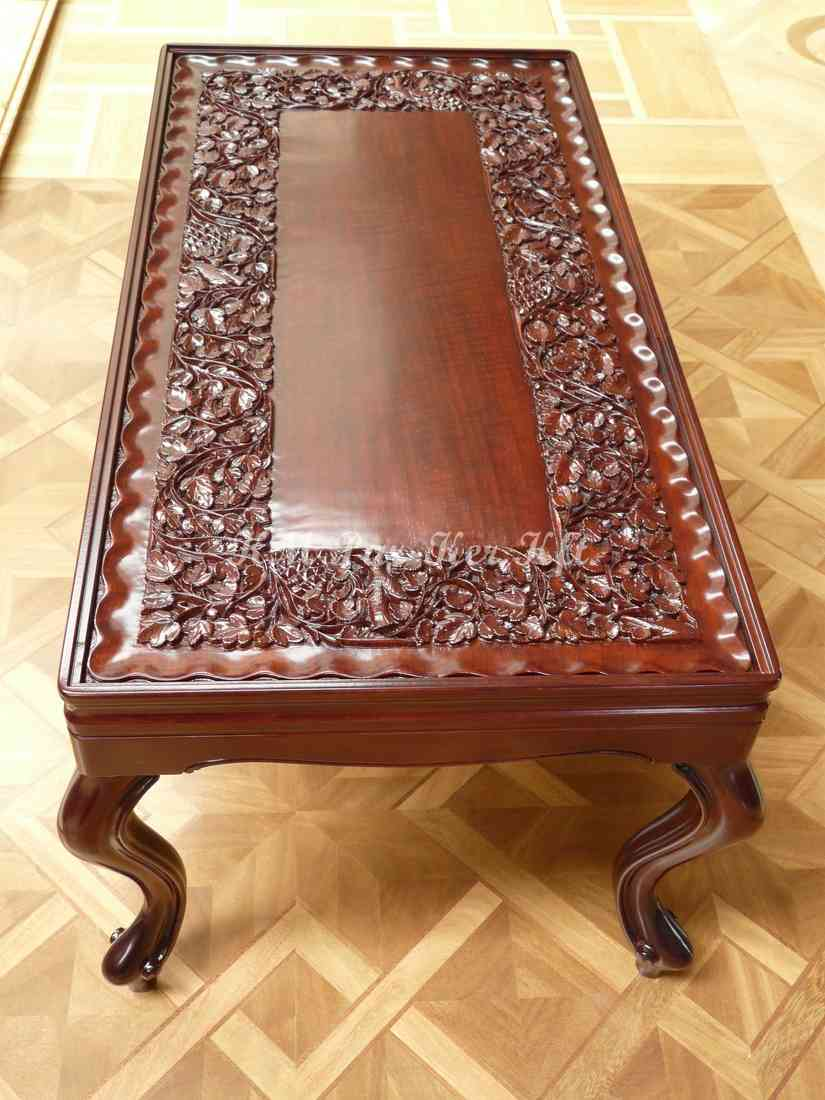 carved furniture 20, coffee table