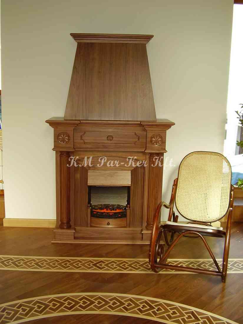 custom furniture 23, wooden fireplace