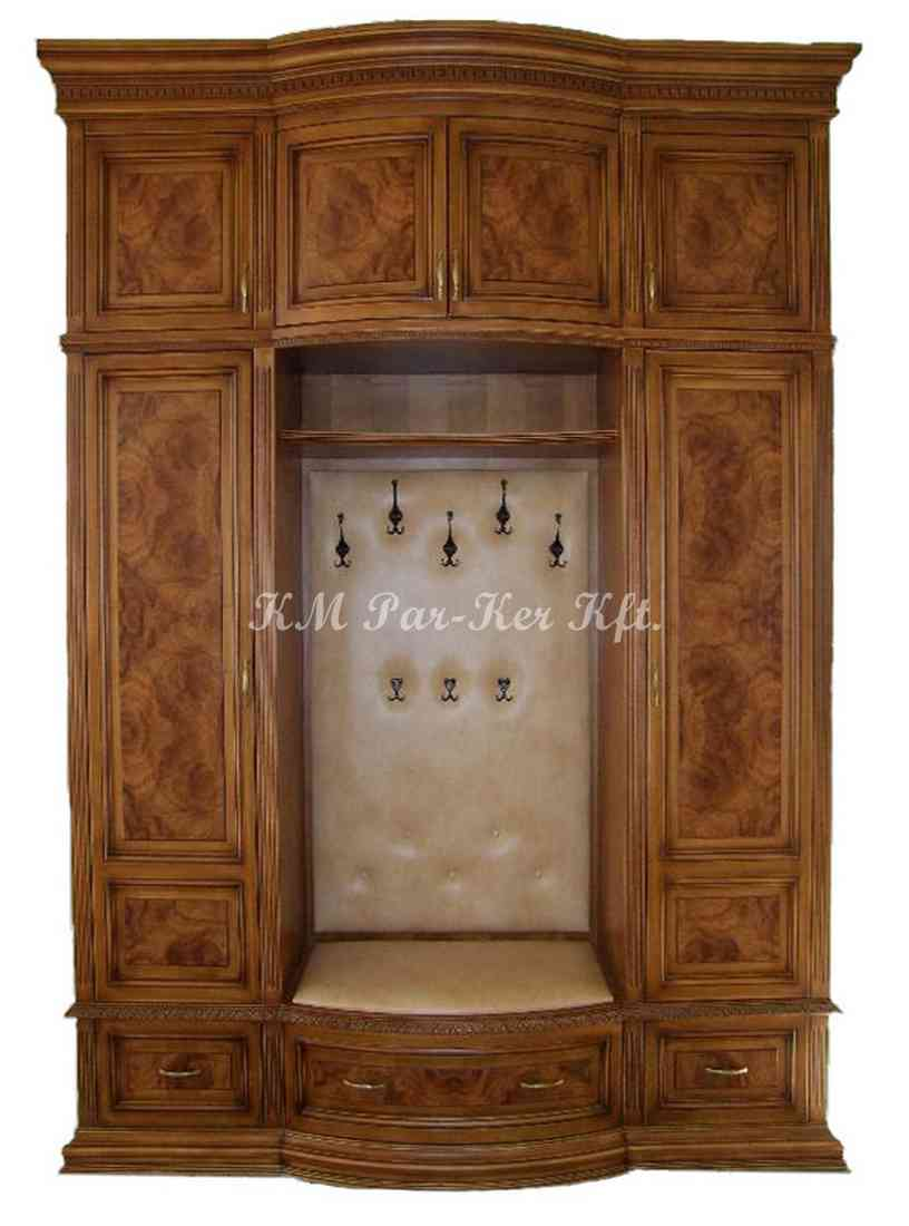 custom furniture 43, hall room, coat closet