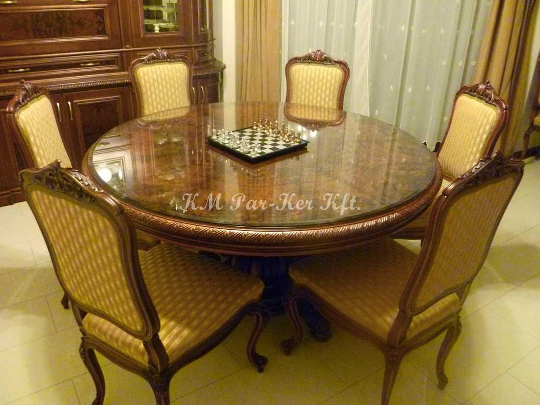 custom furniture 87, carved dining set
