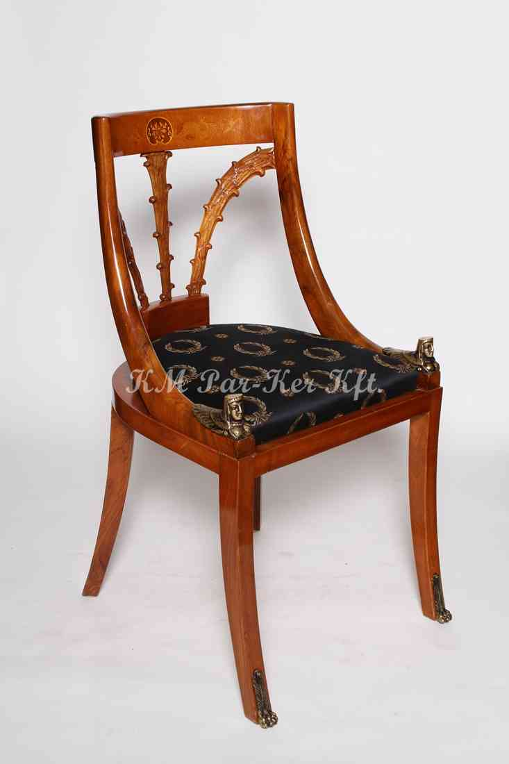 custom made furniture 81, wood inlaid chair