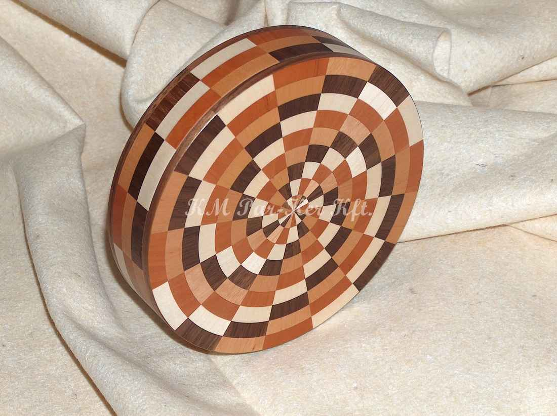 marquetry box 08, 3 dimension
