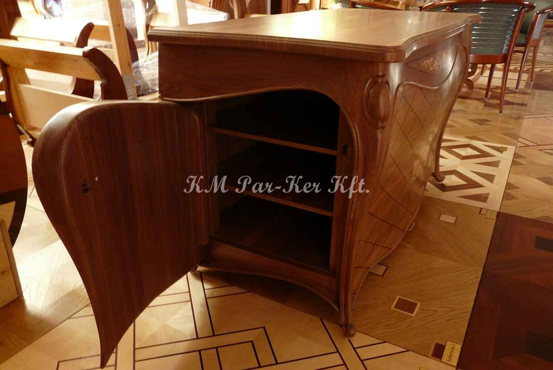marquetry furniture 64, wood TV stand