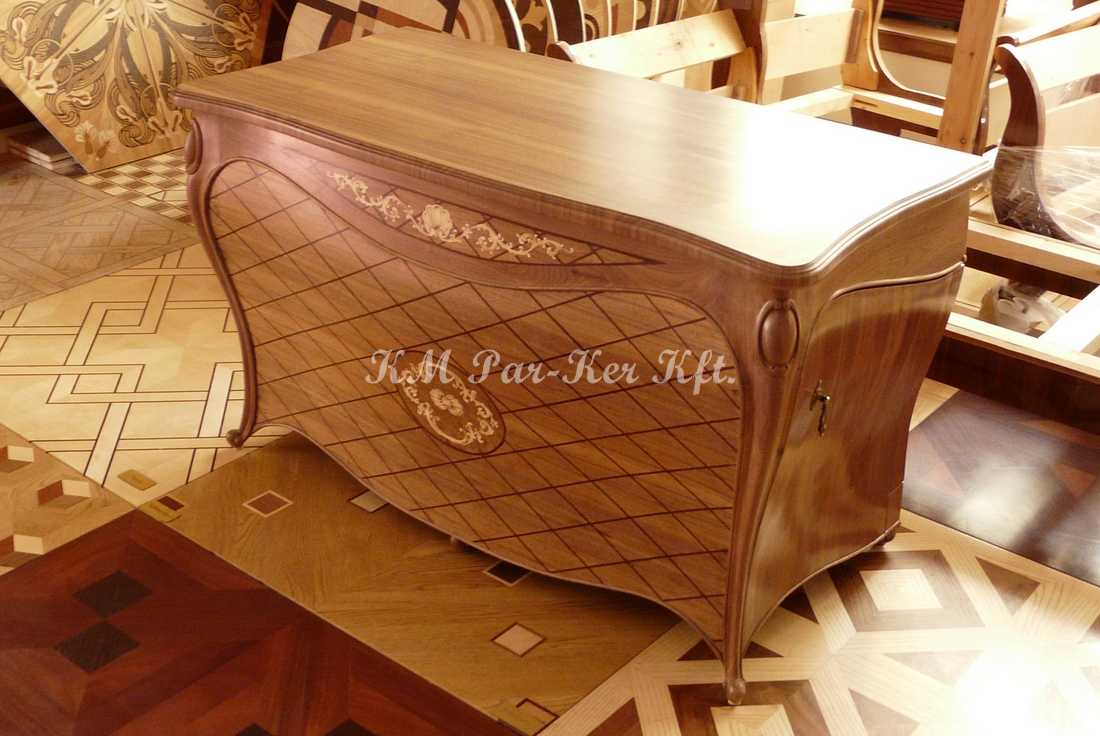 marquetry furniture 66, wood TV stand