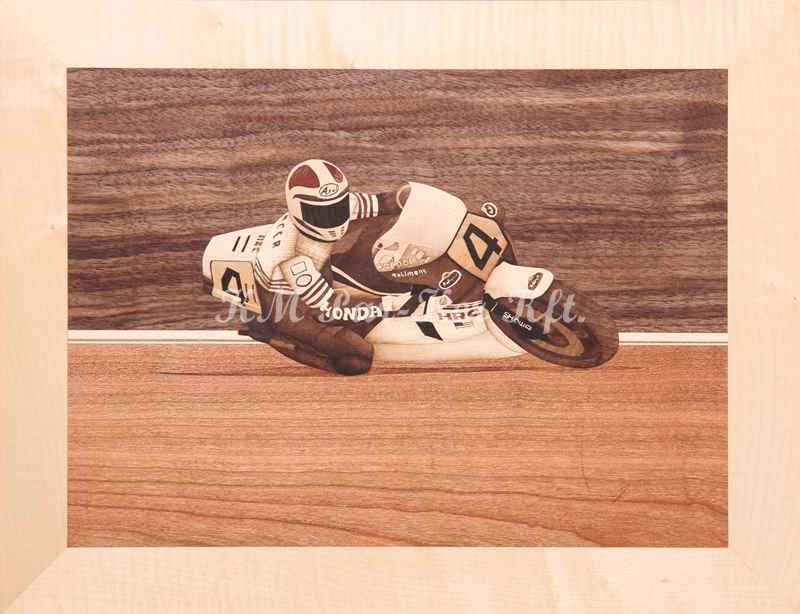 marquetry picture -Freddie Spencer