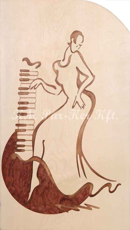 marquetry picture -Moonlight sonata