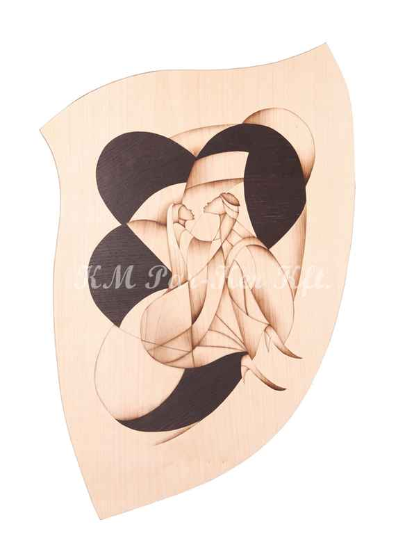 marquetry picture -Negrokiss