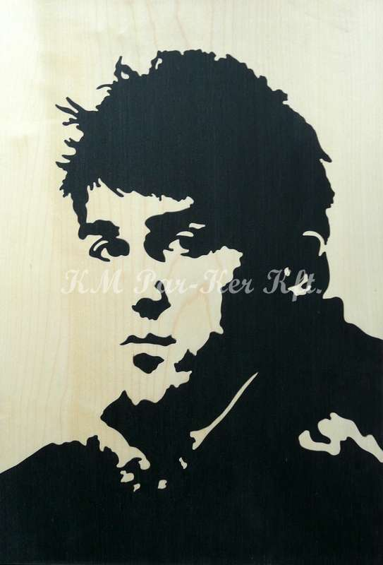 wood inlay art -David Villa