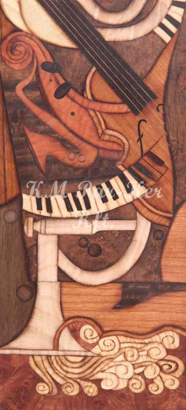 wood inlay art -Sound game
