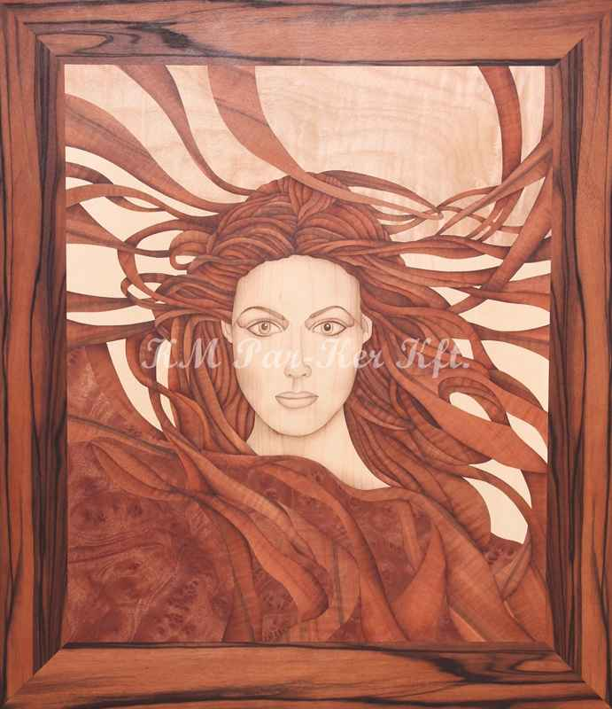 wood inlay art -The spell of attraction