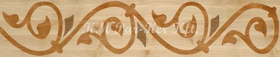 wood inlay floor border 01