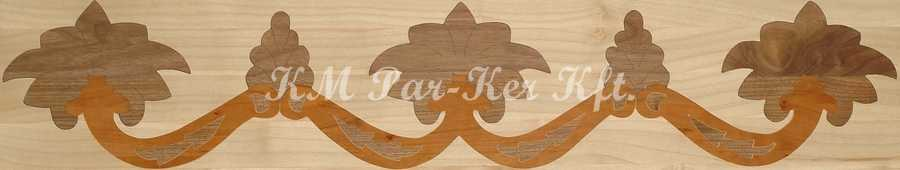 wood inlay floor border 04