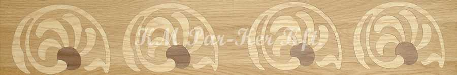 wood inlay floor border 05