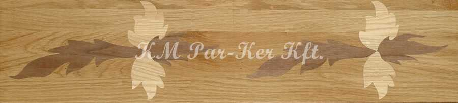 wood inlay floor border 14