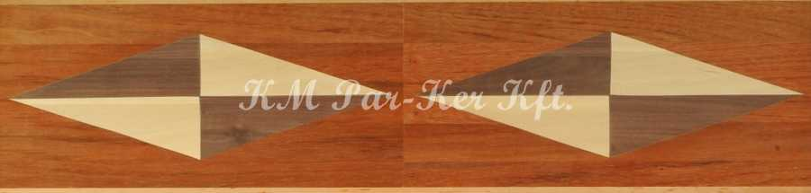 wood inlay floor border, Directions 3
