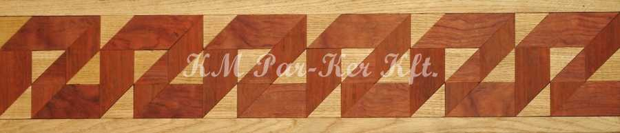 wood inlay floor border, Z