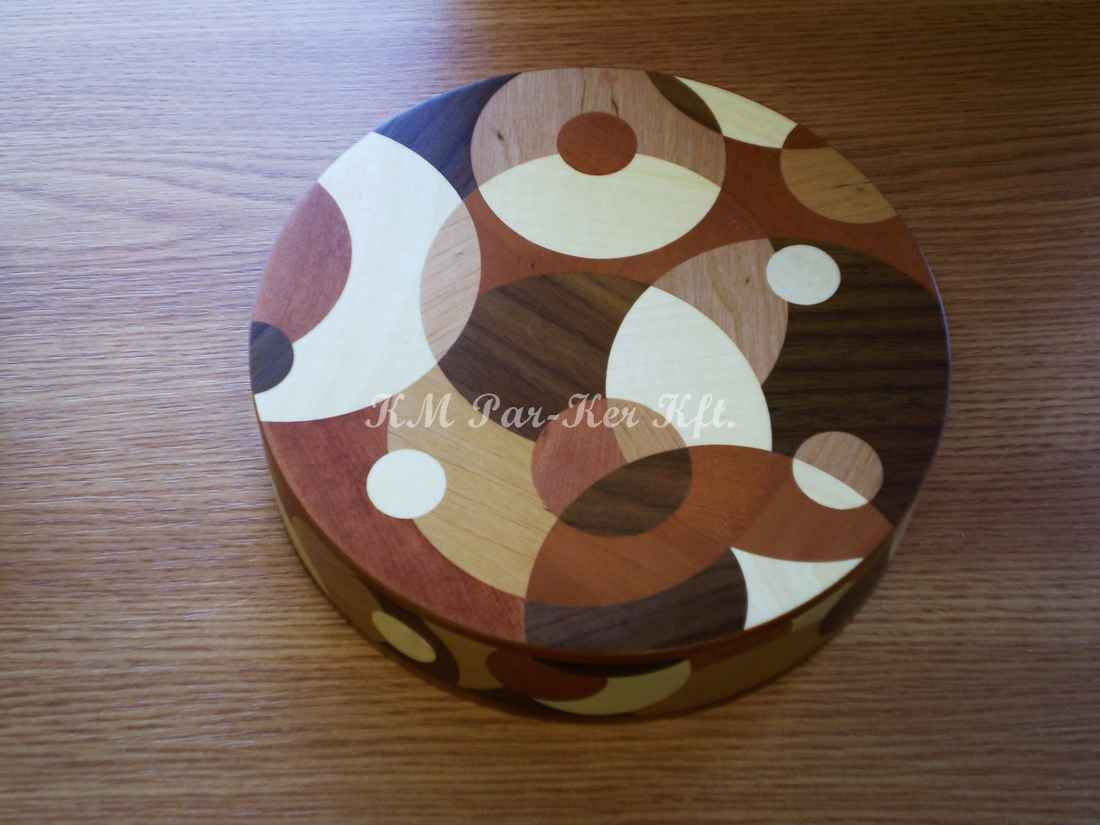 wood inlay box 12, Dew