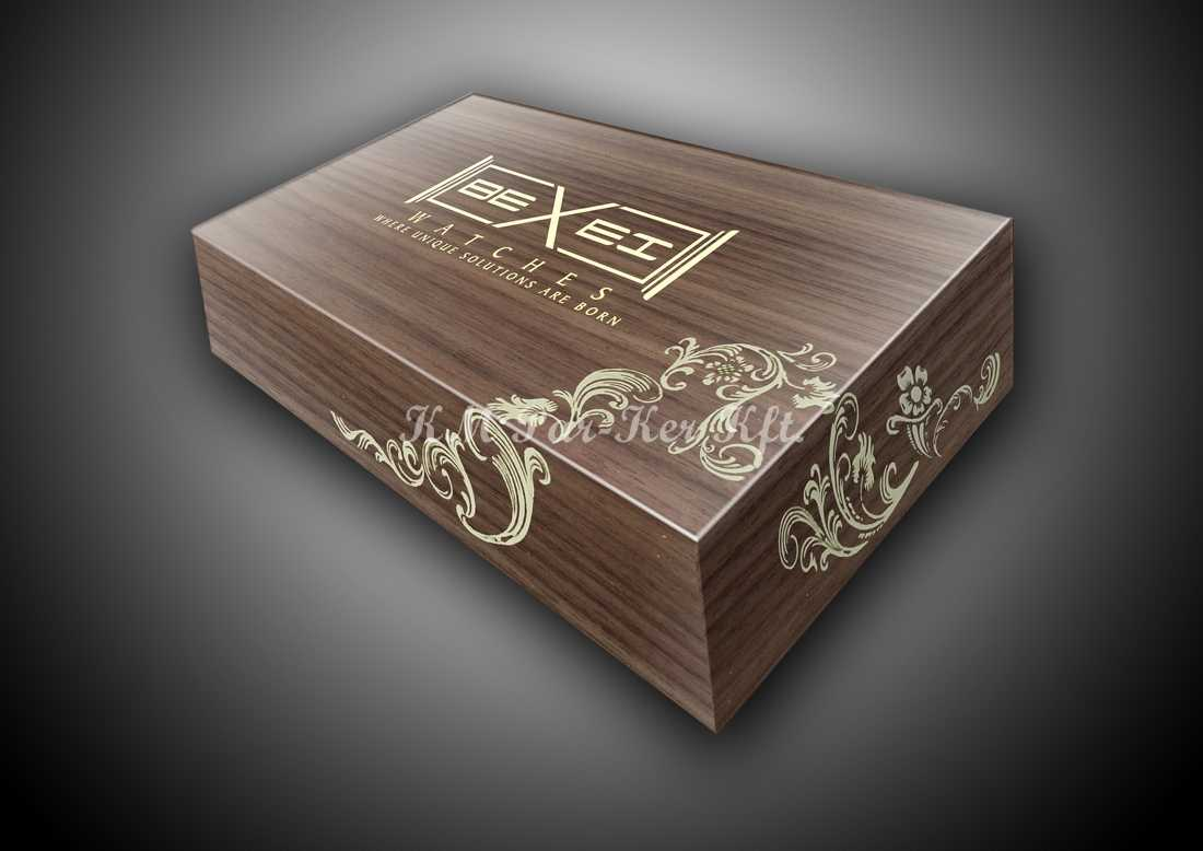 wood inlay box 22, Bexei watches