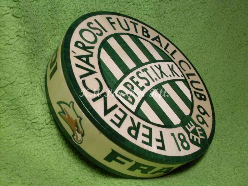 wood inlay box 23, Ferencváros Futball Club