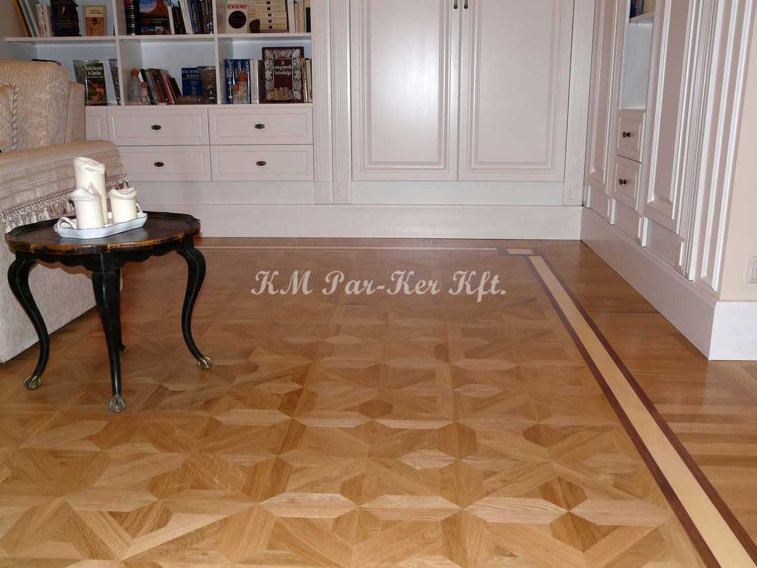 wood inlay floor 17, Tiborc 1 (oak)