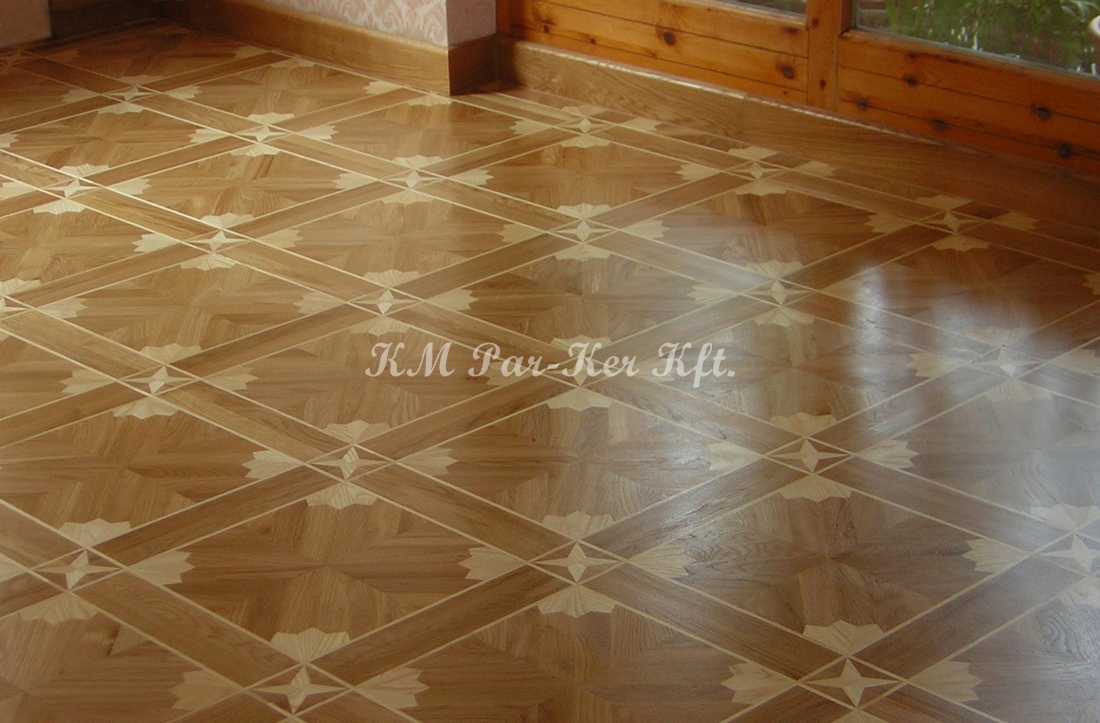 wood inlay floor 32, Vanda (oak, maple)