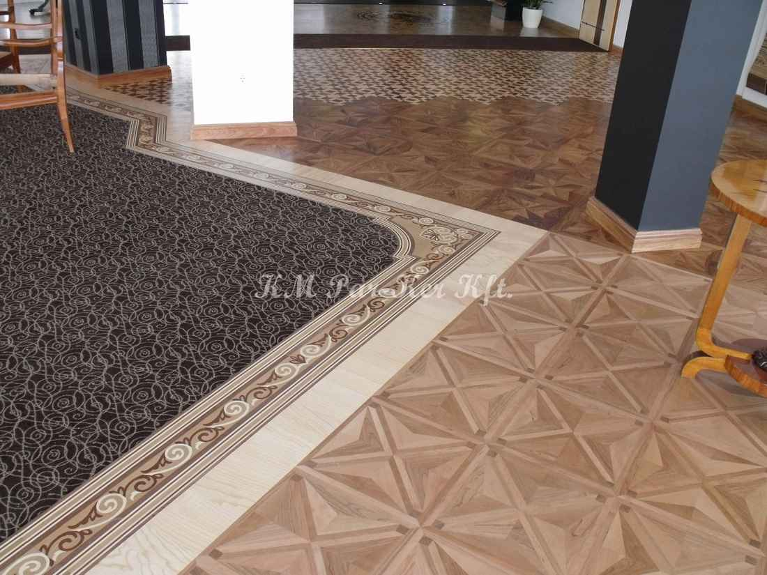 wood inlay floor border 03, carpet
