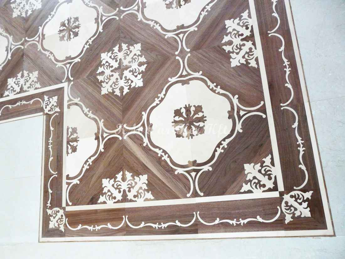 wood inlay floor border 17, Sonja