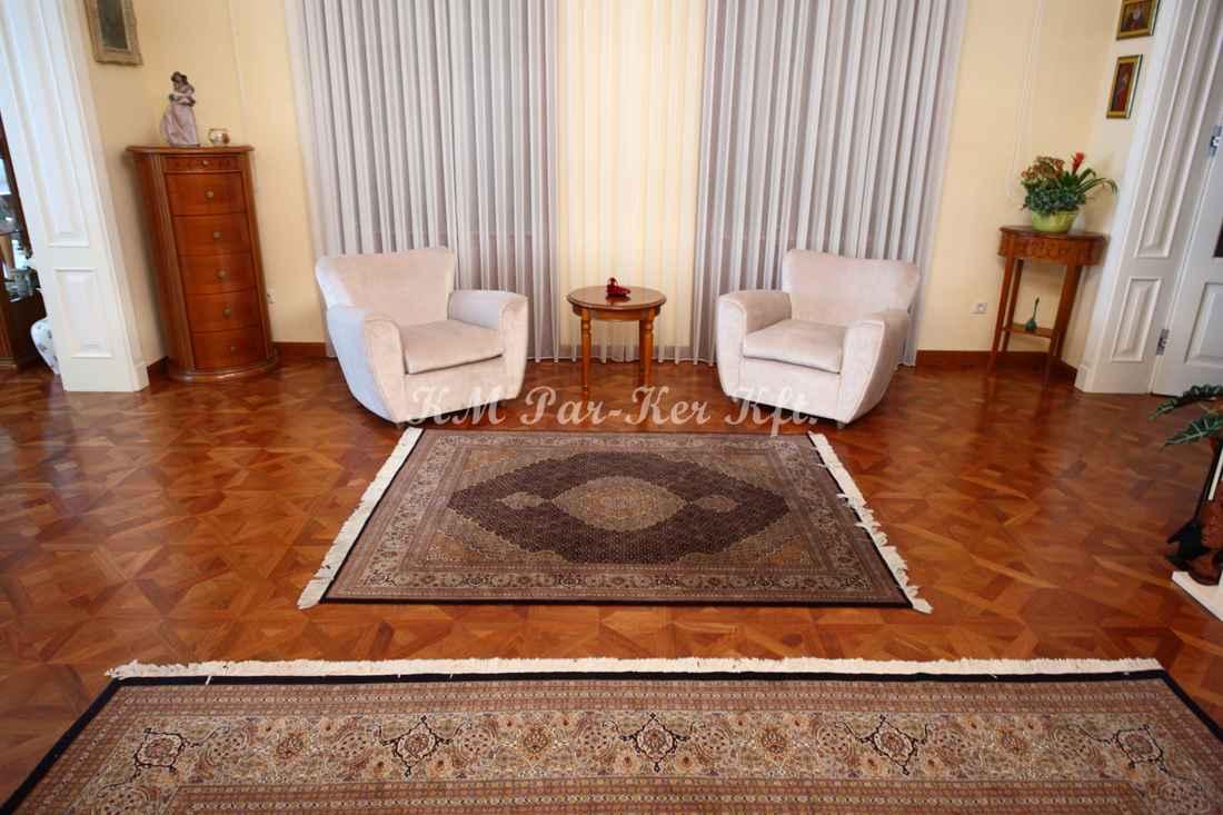 wood inlay floor, home 02